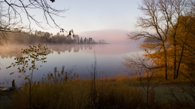 Morning Mist On Crooked Lake