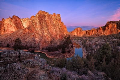Smith Rock At Dawn