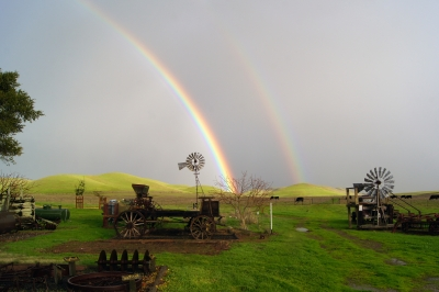 Rainbow At Rush Ranch