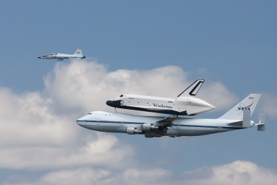 Space Shuttle Enterprise Last Flight