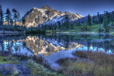 Autumn Evening At Mt. Shuksan