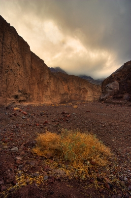 Golden Canyon In Death Valley