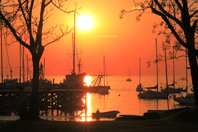Sunset At Colonia Del Sacramento (uruguay)