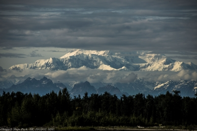 Mt. Mckinley And Clouds