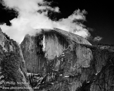 Avalanche On Half Dome 2013