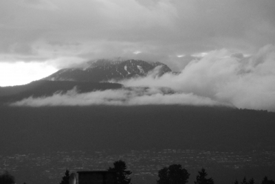 Grouse Mountain From My Window