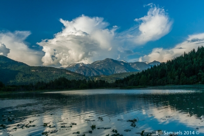 The Monster Cloud Reaches Out To You @ One Mile Lake