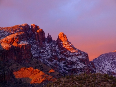 Finger Rock Sunset