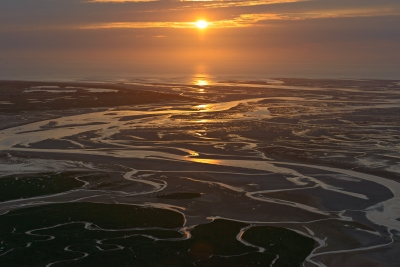 Sunset On Somme Bay