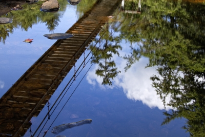 Suspension Bridge Reflection