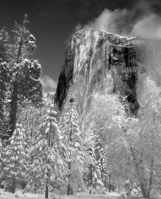 El Capitan In Winter
