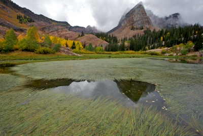 """fall Storm At Sundial Peak"""