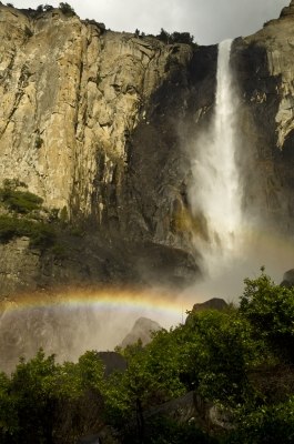 Bridalveil Falls Rainbows