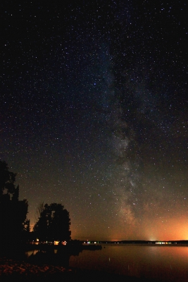Milky Way Over Torch Lake