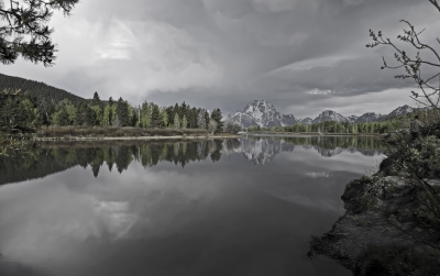 Mount Moran Reflection