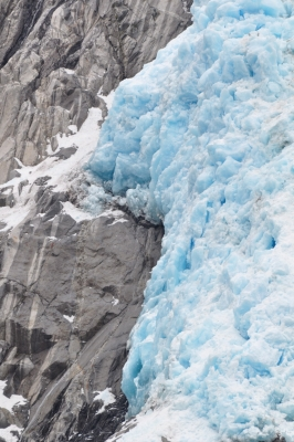 Blue Glacial Ice