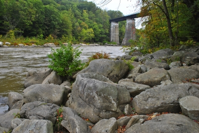 High Bridge At Ohiopyle