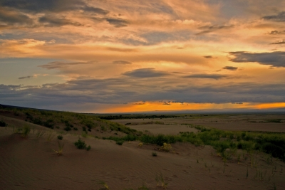 Sunset At Great Sand Dunes National Park