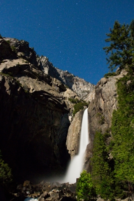 Big Dipper And Lower Yosemite Falls