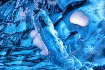 Ice Cave Close-up