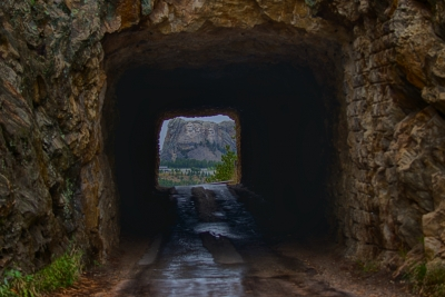 Tunnels Make A Picture Frame