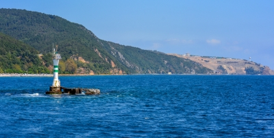 Approaching The Black Sea By Boat