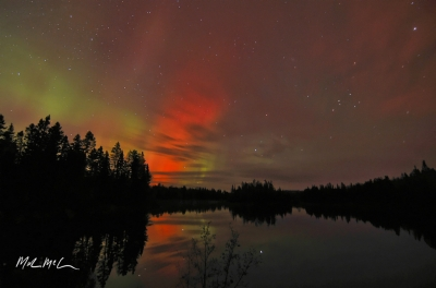 Red Northern Lights