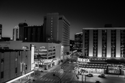 Downtown Vegas Done Old School