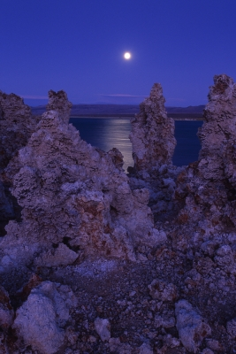 Mono Lake Moonrise, Ca