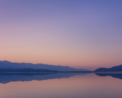 Twilight, Owens Lake