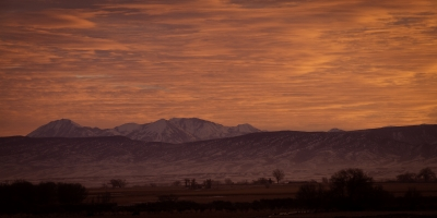Sunrise Over The West Elk Mountains