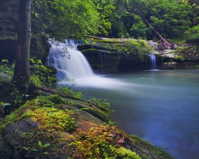 Lower Caney Creek Falls