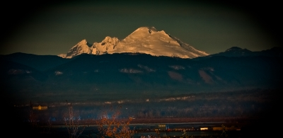 Mt. Baker -from Everett, Wa