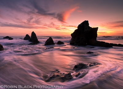 Winter Sunset, El Matador State Beach