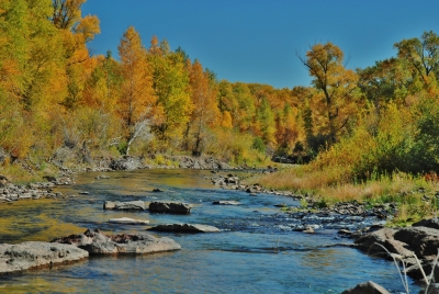 Autumn On The Los Pino River