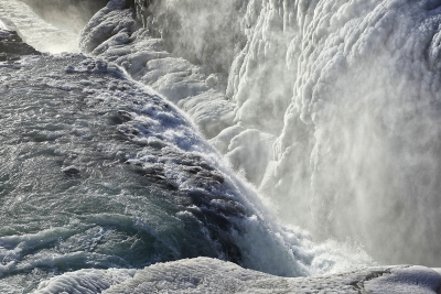 Raging Gullfoss Closeup