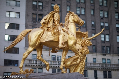 General Sherman Statue, Near Central Park