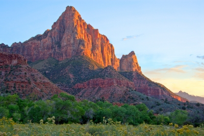 Watchman At Sunset
