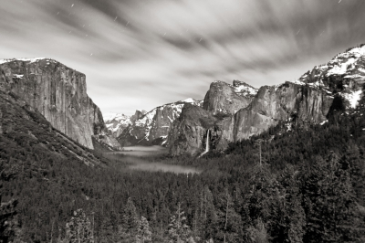 Night At Tunnel View