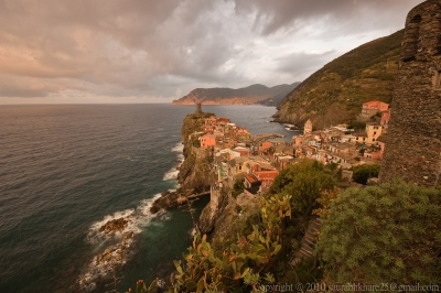 One Of The Villages In Cinque Terre