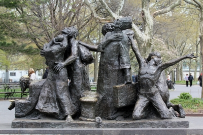 The Immigrants Statue