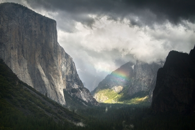 A Break In The Storm, Yosemite Valley