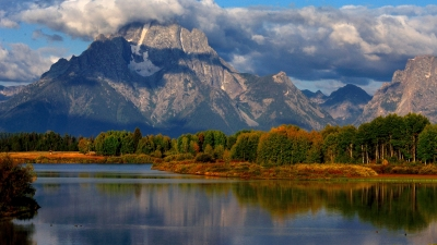 Morning Break At Oxbow Bend