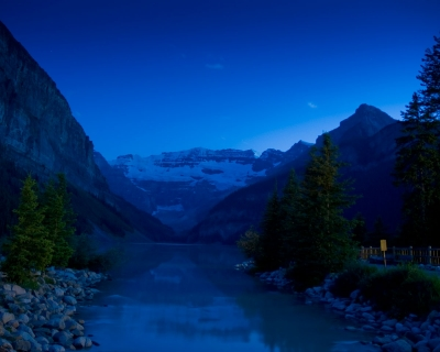 Lake Louise 11 Pm