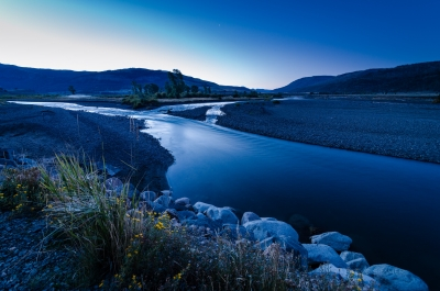 Sunrise At Lamar River And Soda Butte Creek