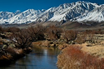 Winter On The Owens River