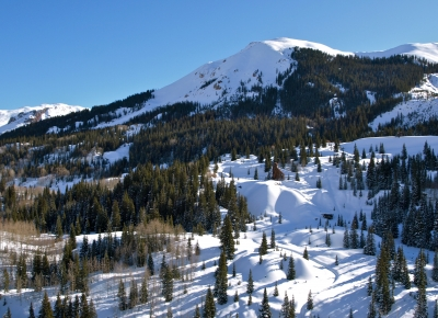 Winters Touch On Red Mountain Pass