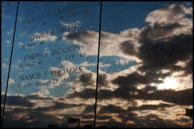 Cloud Reflection On Memorial