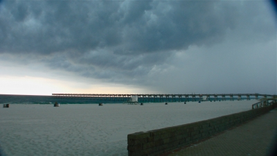 Storm Over The Pier
