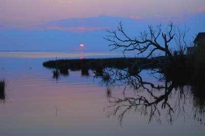 Sunset On Currituck Sound